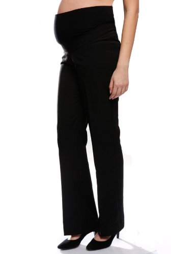 f6915fef488 Bootcut Maternity Pregnancy Trousers, Over the Bump, Sizes 8 - 22,  (Available in 3 leg lengths), Smart Office Work Pants: Amazon.co.uk:  Clothing
