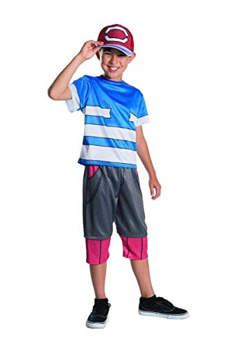 Rubie's Pokemon Child's Ash Costume, Medium -