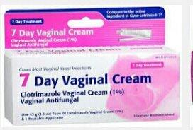 [2 Pack] crème vaginale Jour 7