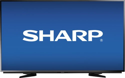 "Sharp 50"" Class (49.7"" Diag.) LED 1080p HDTV Black LC-50LB370U"