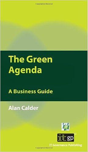 The Green Agenda: A Business Guide: Amazon.es: Alan Calder ...