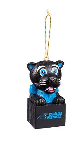 Team Sports America 3OT3804MAS Carolina Panthers Mascot Ornament