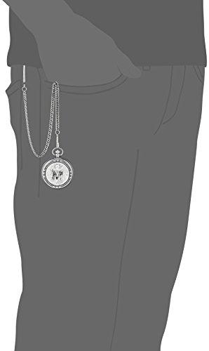Montana Silversmiths WCHP41-447S Montana Time Analog Display Quartz Pocket Watch by Montana Silversmiths (Image #2)