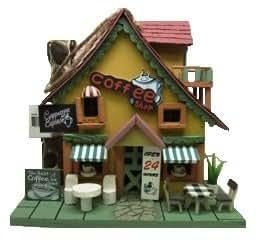 Coffee Shop Hanging Bird House