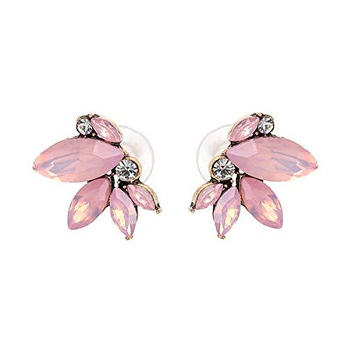 New 2019 Handmade Crystal Simple Cheap Statement Earrings Girls Popular Stud Earrings Fashion Jewelry Wholesale,F2409PK -