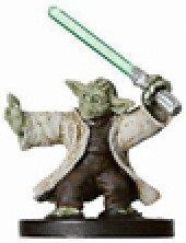 Star Wars Miniatures: Yoda, Jedi Master # 24 - Revenge of the Sith - Sith Star Wars Miniatures