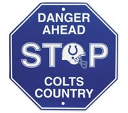 - Indianapolis Colts NFL Stop Sign