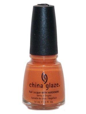 China Glaze Orange Nail Polish - China Glaze Kicks Nail Polish - Breakin - 0.5 oz
