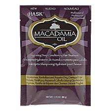 - Hask Macadamia Oil Hair Treatment 50g (6 Packets!!)