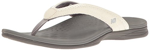 New Balance Womens Hayden Thong Sandal White/Grey