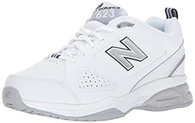 New Balance Womens 623v3 Comfort Training Shoe White Size: 8 Wide