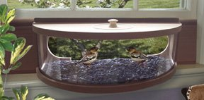 Coveside Panoramic In-house Bird Feeder