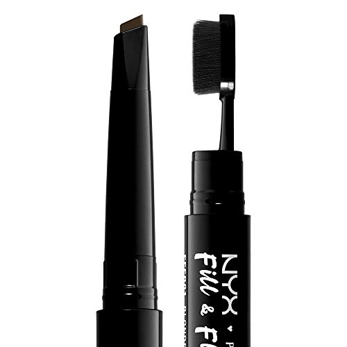 NYX PROFESSIONAL MAKEUP Fill & Fluff Eyebrow Pomade Pencil, Espresso