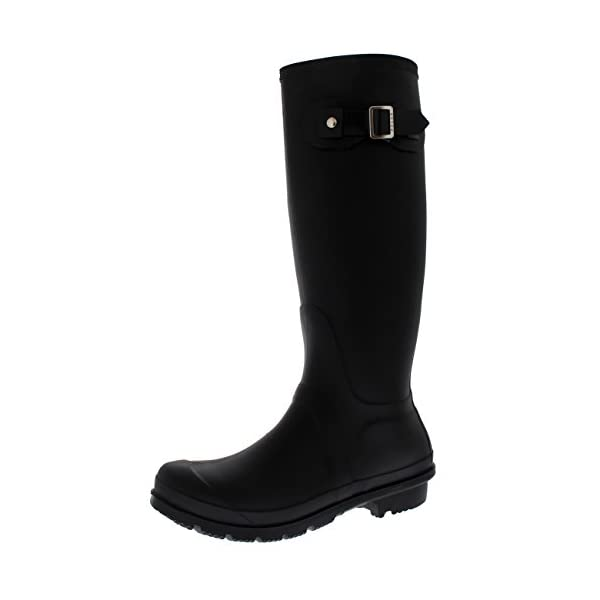 Womens Snow Tall Waterproof Rain Muck Dog Walking Buckle Wellington Boot 1