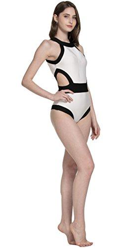 7d713610df Samurai JP Retro & Modern One-Piece Swimsuit Women (Backless Unique  Monokini Series)