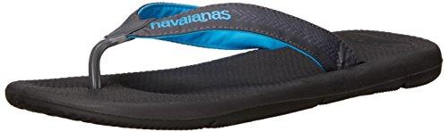Havaianas Mens Surf Pro Sandalo Infradito Nero