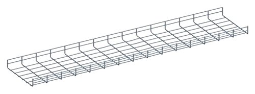 Quest Manufacturing Wire Mesh Cable Tray, 5' x 6