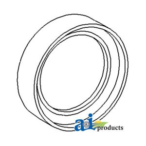 Ford New Holland Oil Seal Transmission Main Drive Gear Pack of 2 Part No: A-8N7052A (Main Drive Assembly Gear)