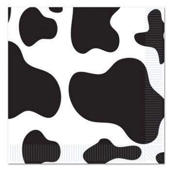 Cow Print Beverage Napkins for $<!--$6.89-->