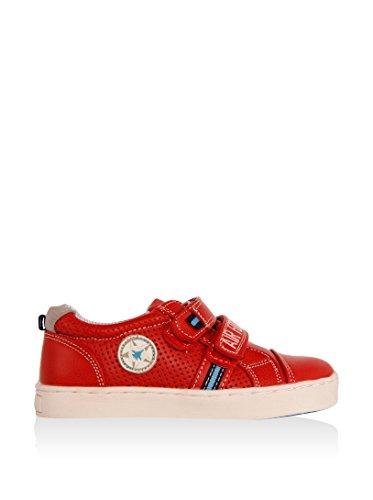 Chaussures pour Garçon URBAN 149270-B2040 RED-LGREY
