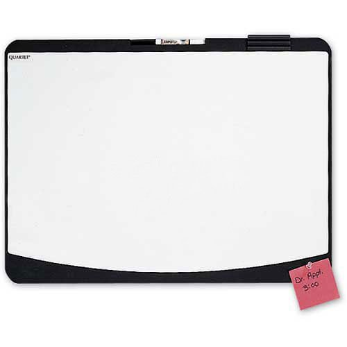 Quartet Designer Whiteboard Cubicle Board, White, 23-1/2 x 17-1/2 - Lot of 5 by Quartet