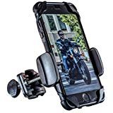Mount Cruiser - Dogo Cruiser: with SecureLock Technology Universal Motorcycle Phone Mount - Fits iPhone X, 8, 8Plus, 7, 7Plus, 6s, 6s Plus | Galaxy S8, S7, S6 | LG or HTC - Wind Resistant up to 150MPH