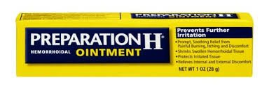 Prep H Ointment Size 1z Preparation H Hemorrhoidal Ointment 1oz