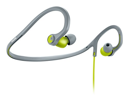 Philips SHQ4300LF/00 ActionFit Sports In-Ear Headphones (Lime)