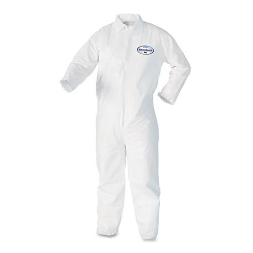 KIMBERLY-CLARK PROFESSIONAL KleenGuard A40 Liquid & Particle Protection Coveralls 44304 KCC 44304