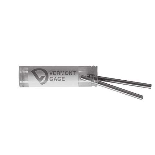 3 Pitch 0.480 Diameter Vermont Gage 357401510 Tool Steel Standard Gear Measuring Wire Pack of 2 2 Length
