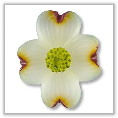 - Dogwood Flower Floating Candles - 2 ¾