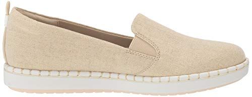 Zapatilla Mujer Gold Canvas Clarks Step Glow Soft Ovwza