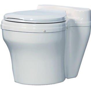 Waterless Toilets - Dry Toilet, White per 1