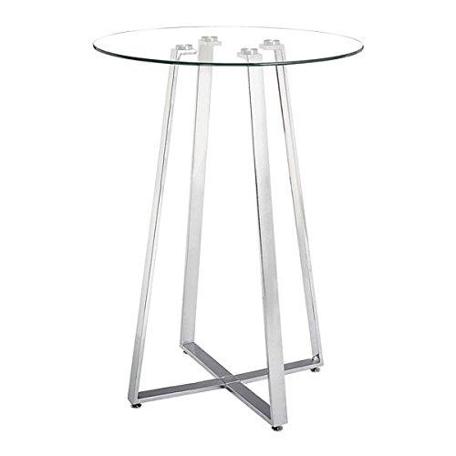 Lemon Drop Bar Table Chrome - Bar Table Lemon Drop