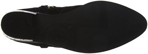 Office Ankle Black Atlas Boots Women's Black Suede vqSFrwv