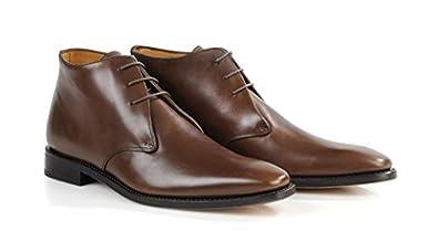 876066d52f8 Bexley - Chaussures Ville Camden - Homme - 44.5 Châtaigne  Amazon.fr ...