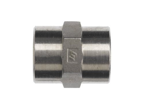 Brennan 5000-08-08-SS Stainless Steel Pipe Fitting, Coupling, 1/2