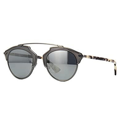 f8b910bdde21 New Christian Dior SO REAL RJG T4 Ruthenium Grey Sand Havana Grey Sunglasses