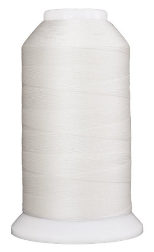 Superior Threads 11602-401 So Fine Snow 3-Ply 50W Polyester Thread, 3280 yd Thread Snow