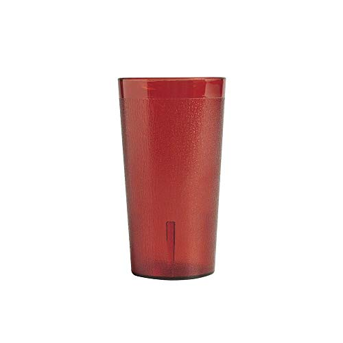 Ruby Red Colorware Tumbler - Cambro 1200P2156 Colorware Ruby Red 12.6