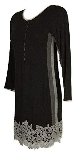 Women's nightdress nightwear sleepwear lace GIANANTONIO A. PALADINI item HAITI made in ITALY