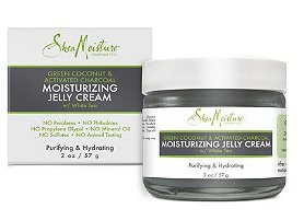 SheaMoisture Green Coconut Activated Charcoal Moistuizing Jelly Cream 2oz, pack of 1