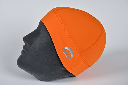 (Chrome Dome Caps - UV Protective Sun Hats for Outdoor Sports (Orange))