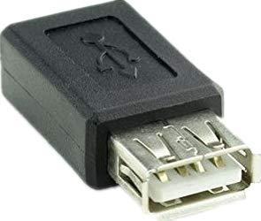 2/Pack USB 2.0/Type A Femelle A Micro USB B connecteur Femelle Adaptateur de Prise convertisseur de USB 2.0/A Micro USB