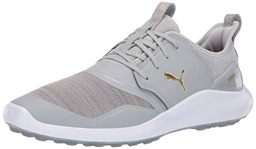 - Puma Golf Men's Ignite Nxt Lace Golf Shoe, high Rise Team Gold-Puma White, 11 M US