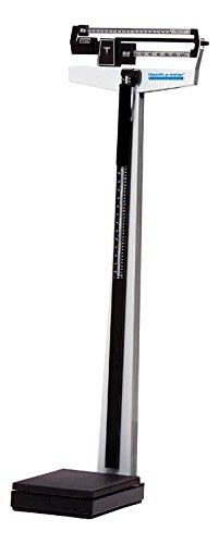 pelstar 402 klwh mecánico haz escala w/FIJO, barra, barra de altura y ruedas - LB/kg capacidad 390lb/180kg: Amazon.es: Hogar