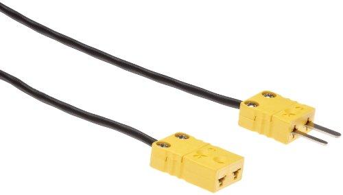 5 M Testo Cable De Extensi/ón Para El Tipo De Sonda Termopar K 0554 0592