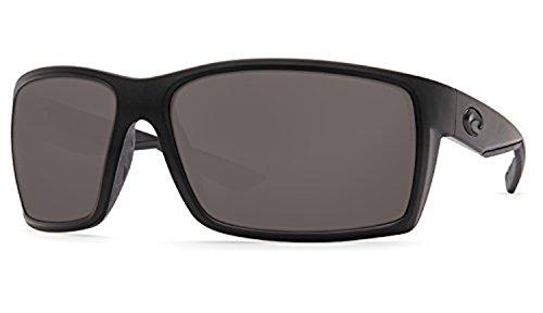 Costa Reefton Sunglasses & Cleaning Kit Bundle Blackout / Gray 580p