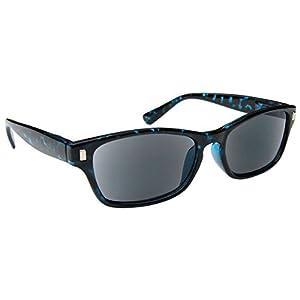 The Reading Glasses Company Blue Tortoiseshell Sun Readers UV400 Mens Womens S10-3 +2.00