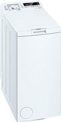 Siemens WP12T227 iQ300 Waschmaschine TL / A+++ / 174 kWh/Jahr / 1140 UpM / 7 kg / 9240 L/Jahr / Großes Display mit Endezeitvorwahl / weiß